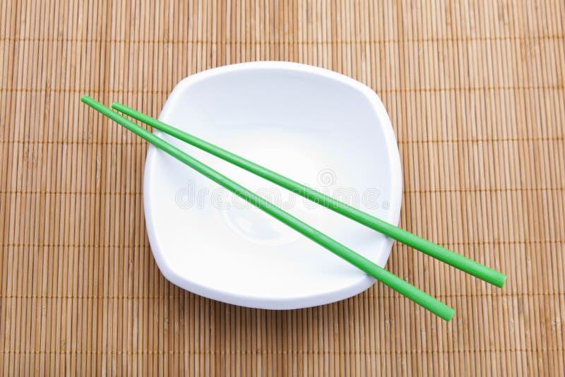 Asiatische Tabelleneinstellung stockfotos