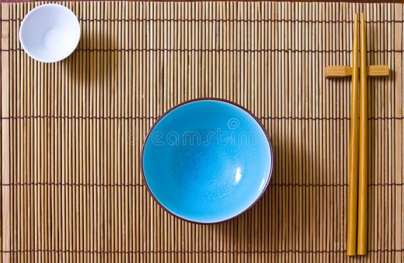 Asiatische Tabelleneinstellung   stockfoto