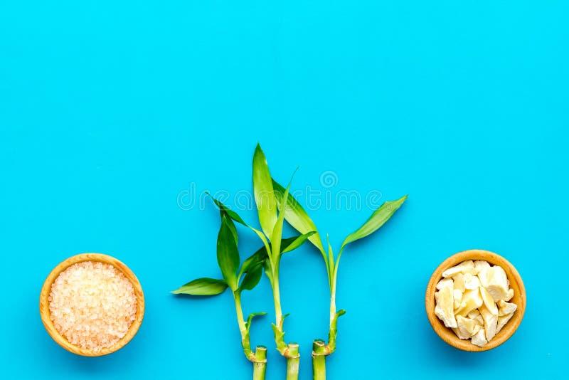Asiatischer Badekurorthintergrund Zensteine und -orchidee E stockfoto