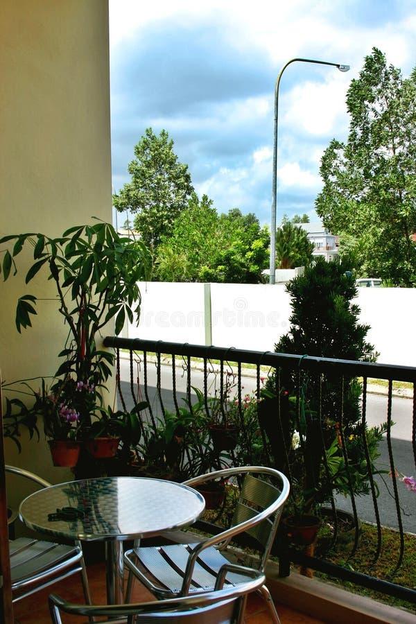 Balkon Asiatisch asiatischer balkon stockfoto bild tropisch relax 1577400