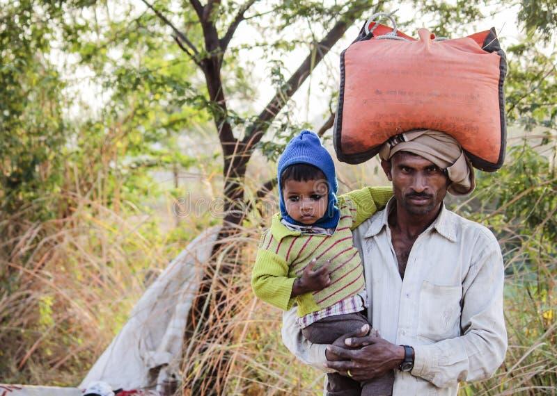 Asiatischer Dorfbewohner lizenzfreie stockfotografie