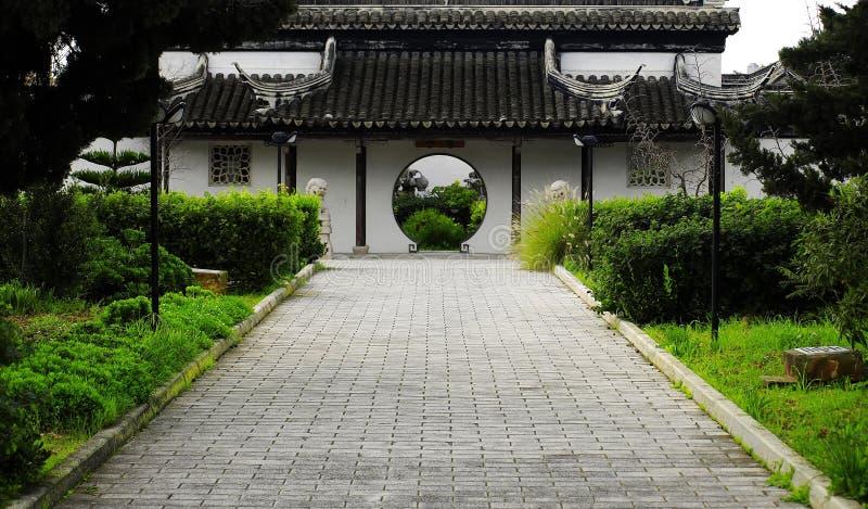 Asiatischer Garten lizenzfreie stockbilder