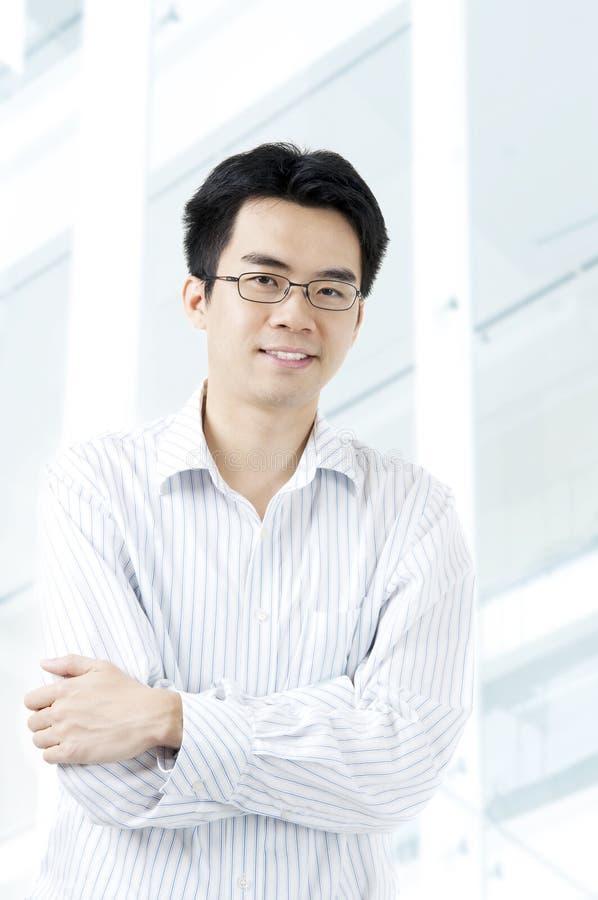 Asiatischer Geschäftsmann   lizenzfreies stockbild