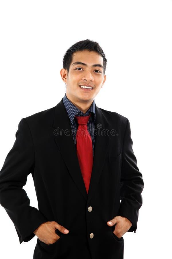 Asiatischer Geschäftsmann lizenzfreie stockfotografie