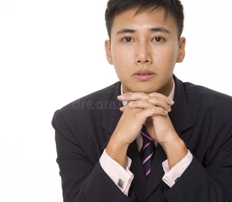 Asiatischer Geschäftsmann 3 lizenzfreie stockfotografie