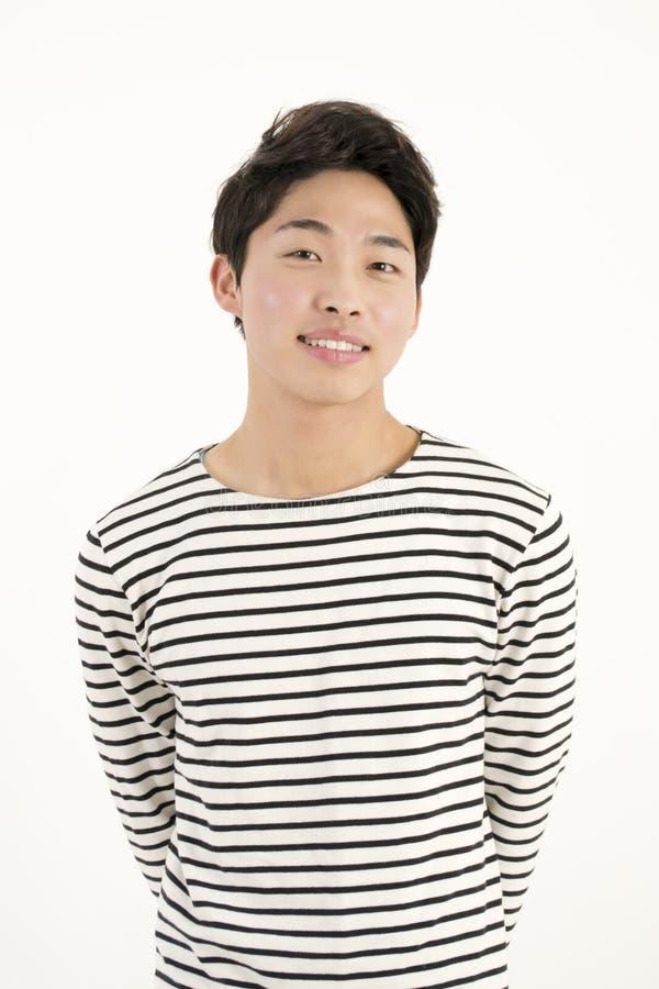 Asiatischer gutaussehender Mann lizenzfreies stockbild