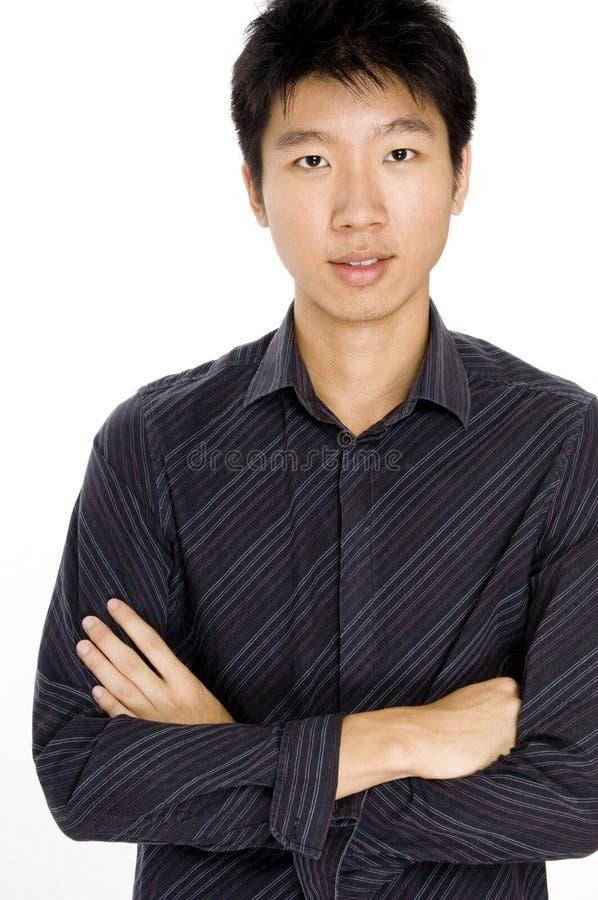 Asiatischer Mann stockbild