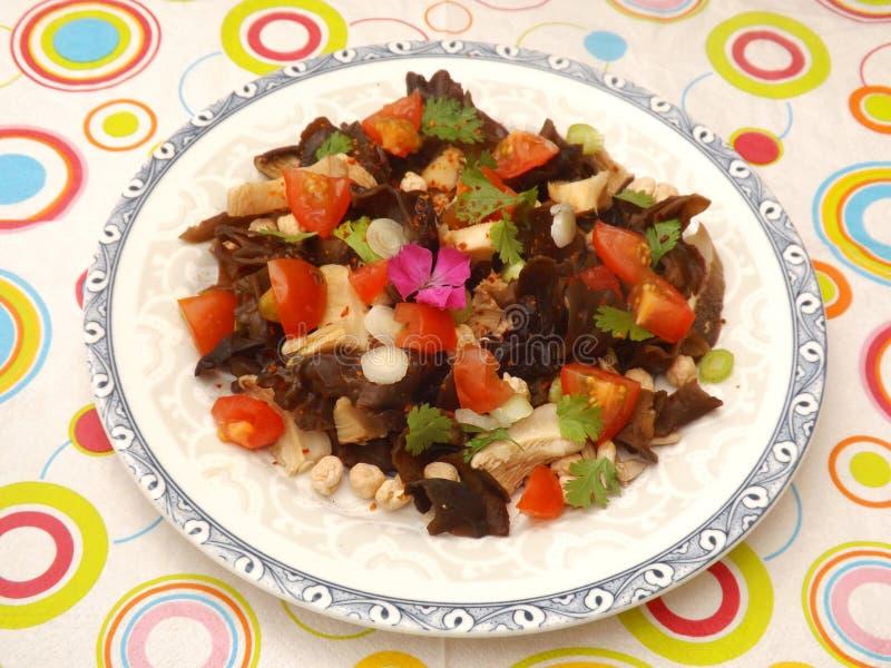 Asiatischer Salat lizenzfreies stockbild
