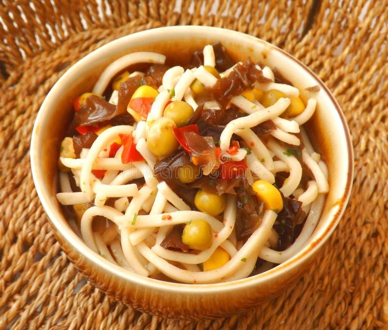 Asiatischer Salat lizenzfreie stockbilder