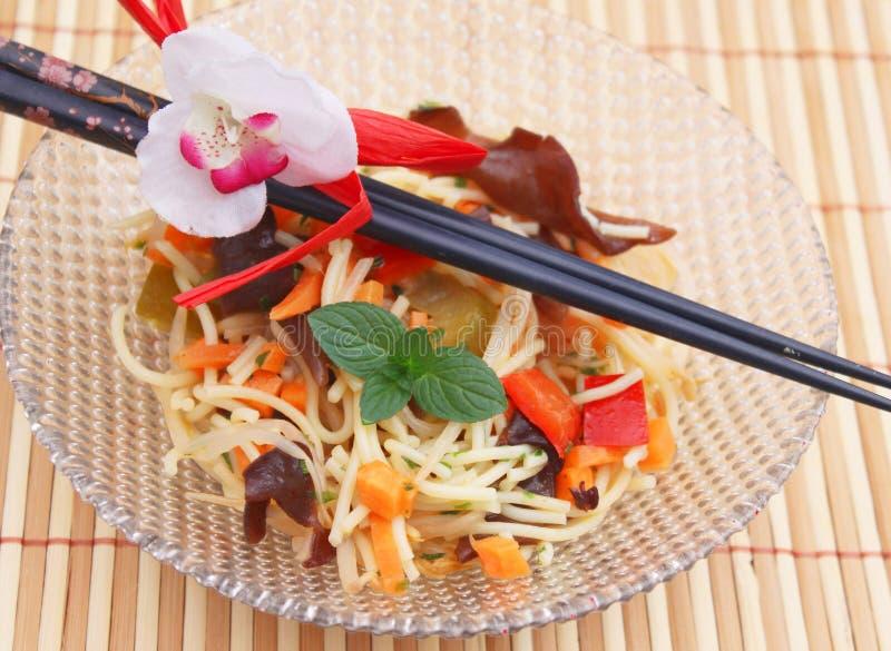 Asiatischer Salat lizenzfreie stockfotos
