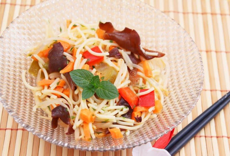 Asiatischer Salat stockbild