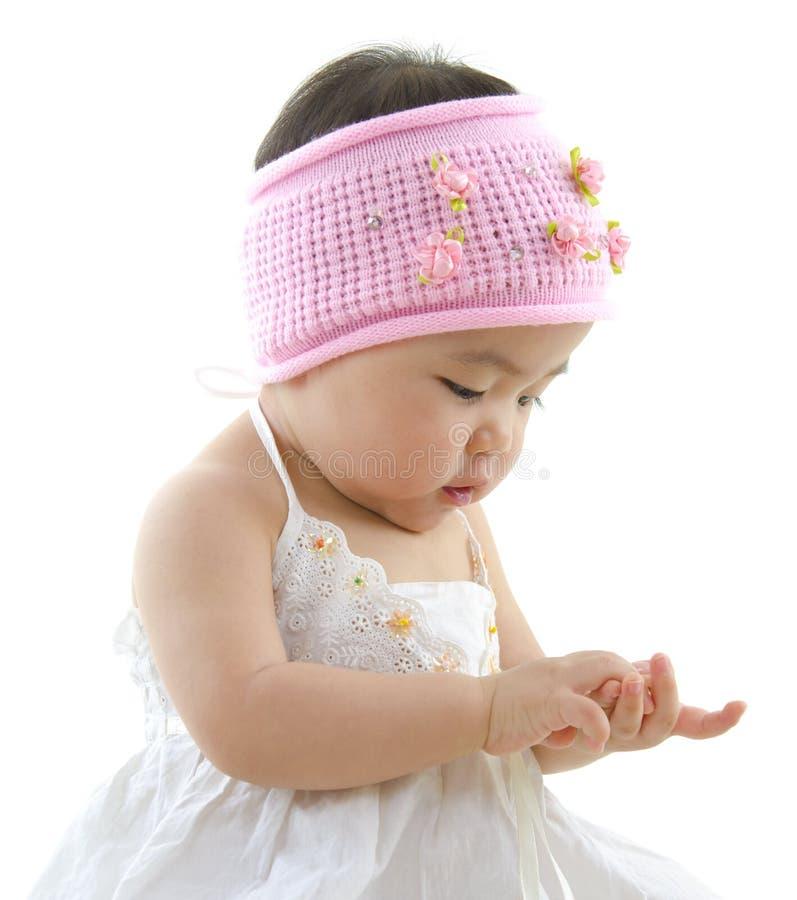 Asiatisches Baby lizenzfreie stockfotografie