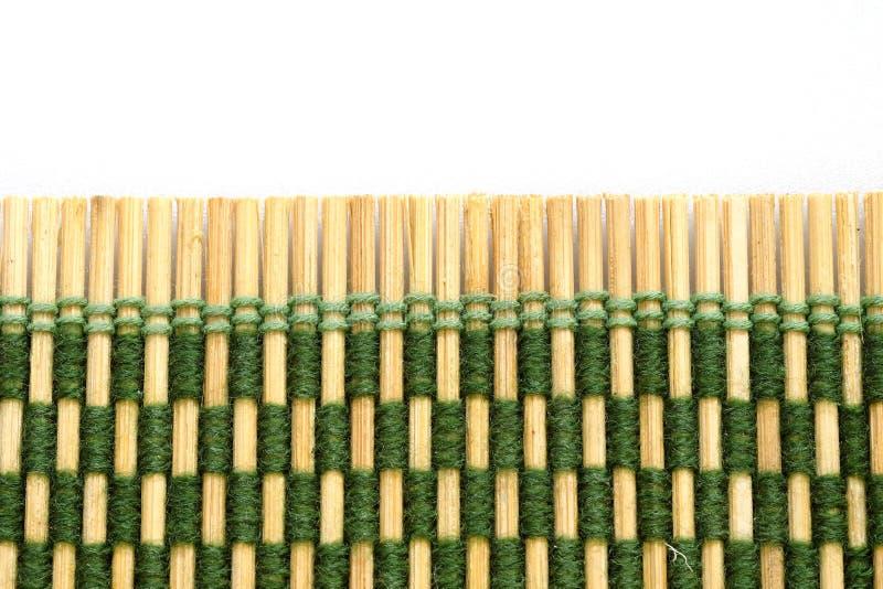 Asiatisches Bambusmattenmuster stockfotos