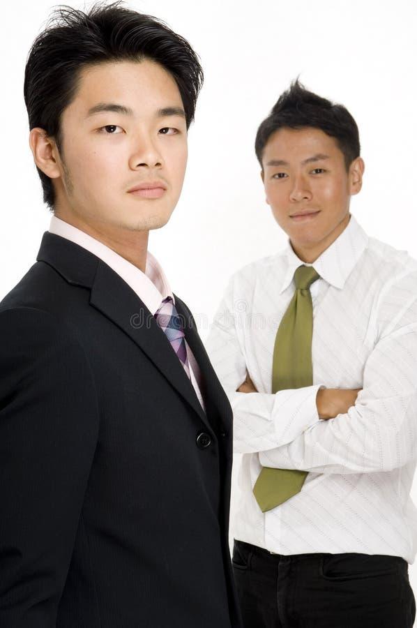 Asiatisches Geschäft lizenzfreie stockfotos