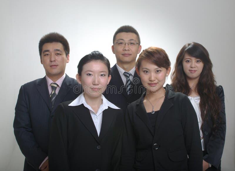 Asiatisches Geschäftsteam stockfotografie