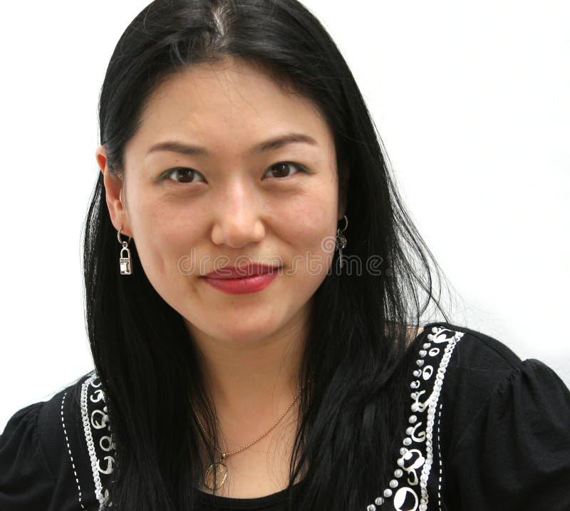 Asiatisches Gesicht lizenzfreie stockbilder