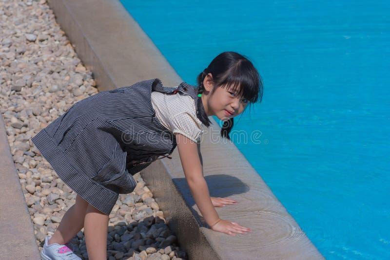 Asiatisches Porträt des Trieb Kinder stockfoto