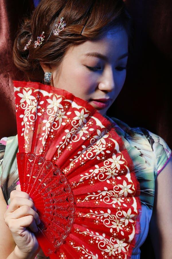 Asiatisk älskvärd flicka arkivbilder