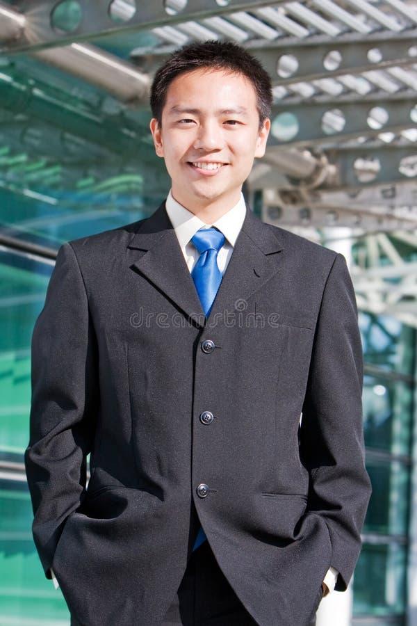 asiatisk affärskinesman royaltyfri foto