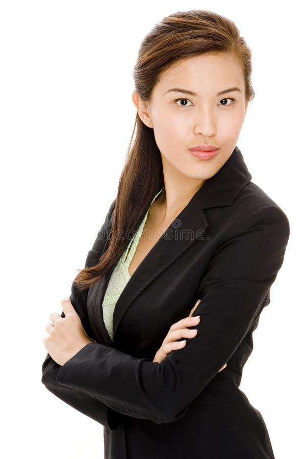 Asiatisk affärskvinna