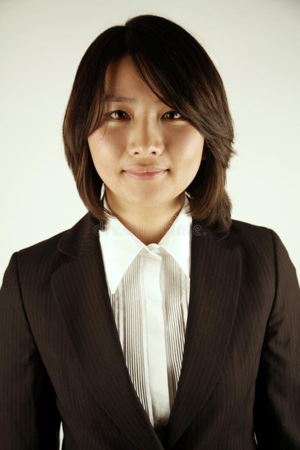 asiatisk affärskvinna royaltyfria bilder