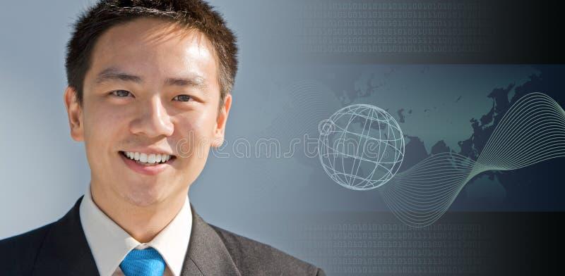 asiatisk affärsman arkivbilder
