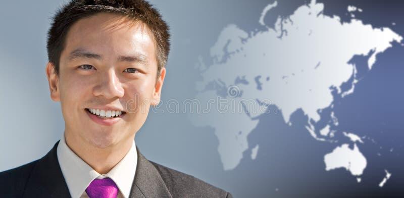 asiatisk affärsman royaltyfri foto