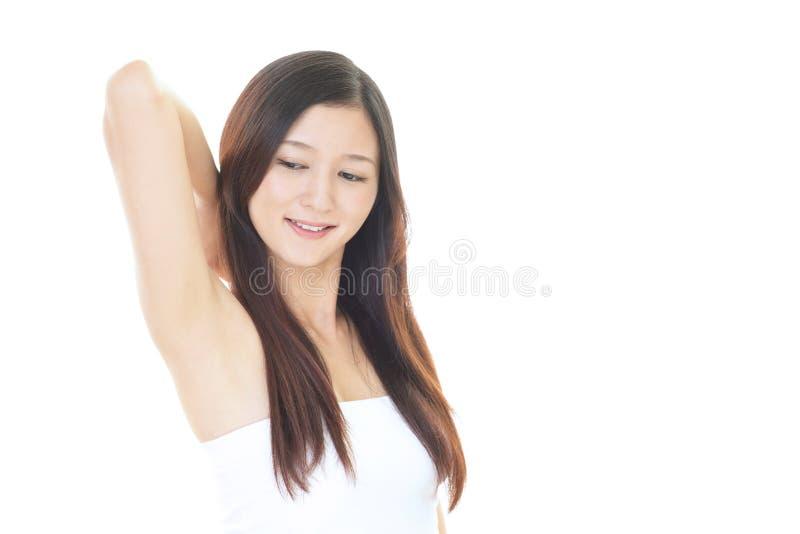 asiatisk attraktiv kvinna royaltyfri bild