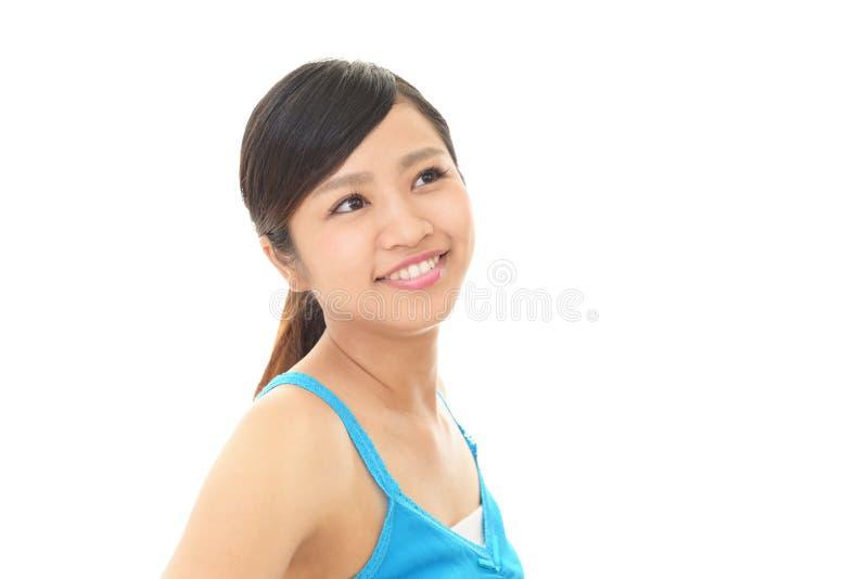 asiatisk attraktiv kvinna arkivbilder