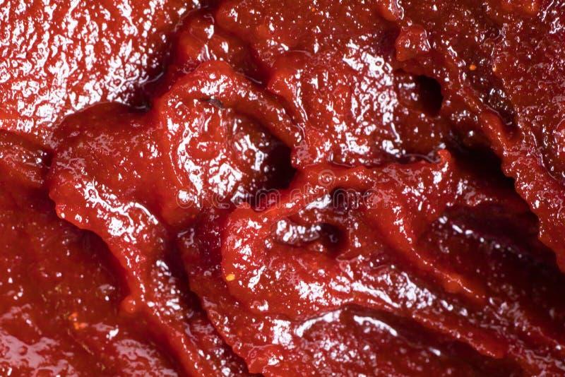 Asiatisk bönadeg eller sås för varm chili arkivfoto