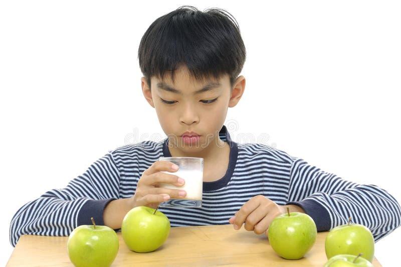 Asiatisk barnman fotografering för bildbyråer