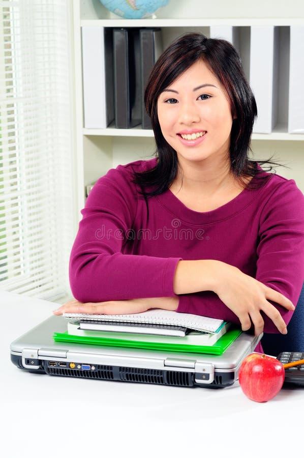 asiatisk deltagare royaltyfri bild