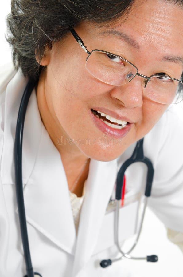Asiatisk doktor fotografering för bildbyråer