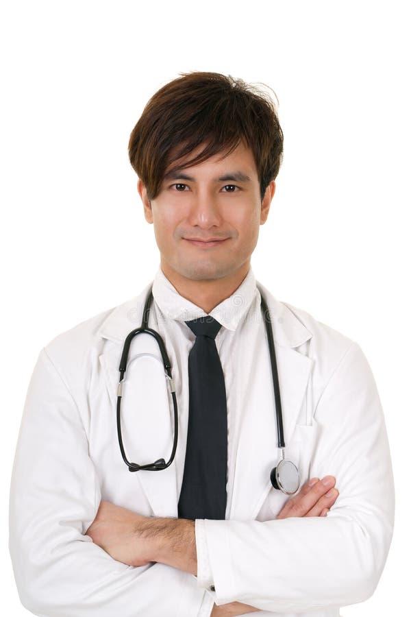 asiatisk doktorsmedicin royaltyfri foto