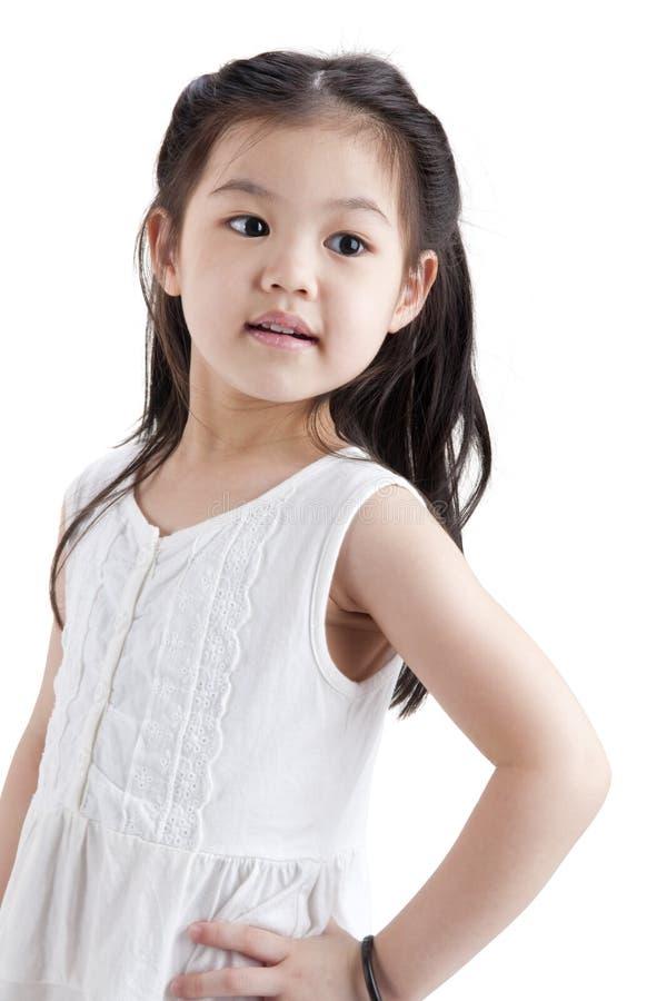 asiatisk flicka little royaltyfria bilder