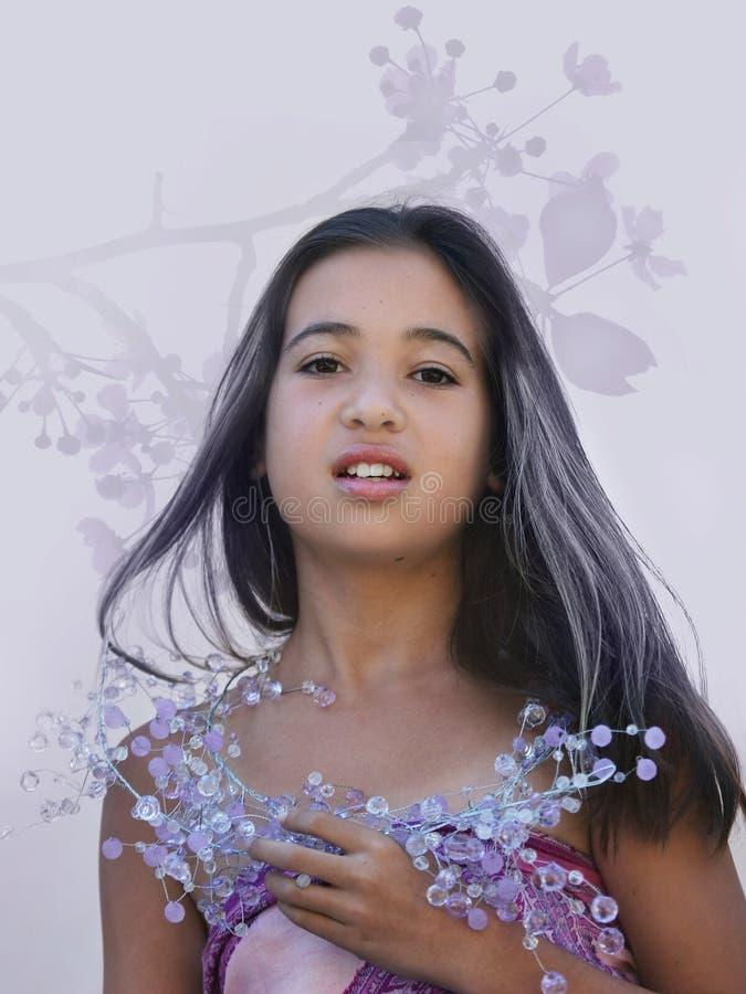 Download Asiatisk glamour arkivfoto. Bild av nätt, folk, smycken - 289232