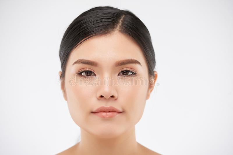 asiatisk härlig kvinna fotografering för bildbyråer