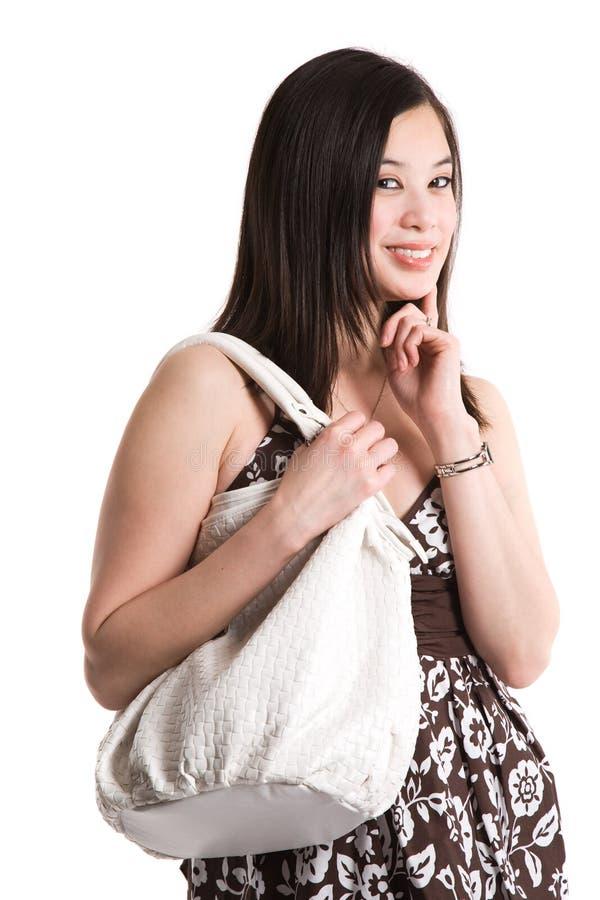 asiatisk härlig kvinna arkivfoton