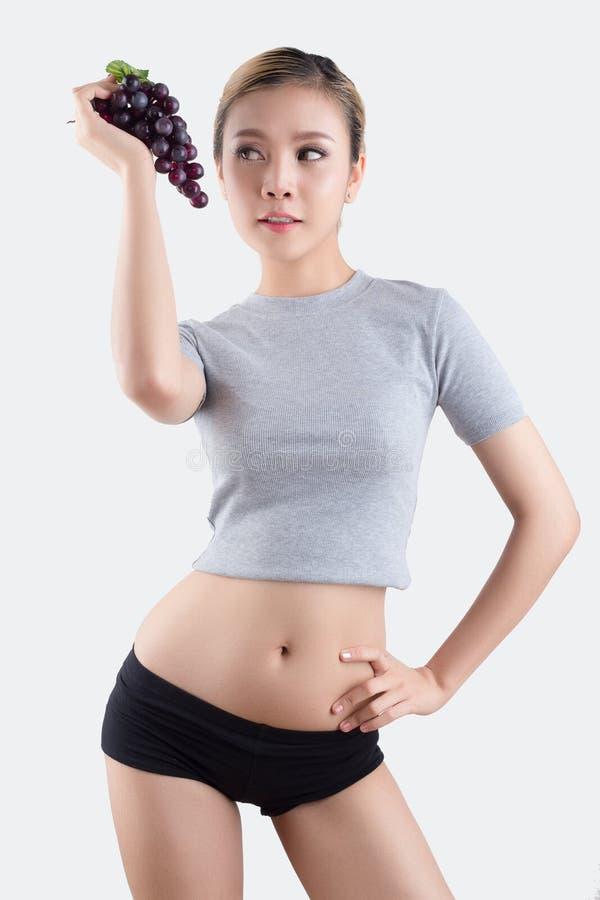 asiatisk härlig kvinna royaltyfri fotografi