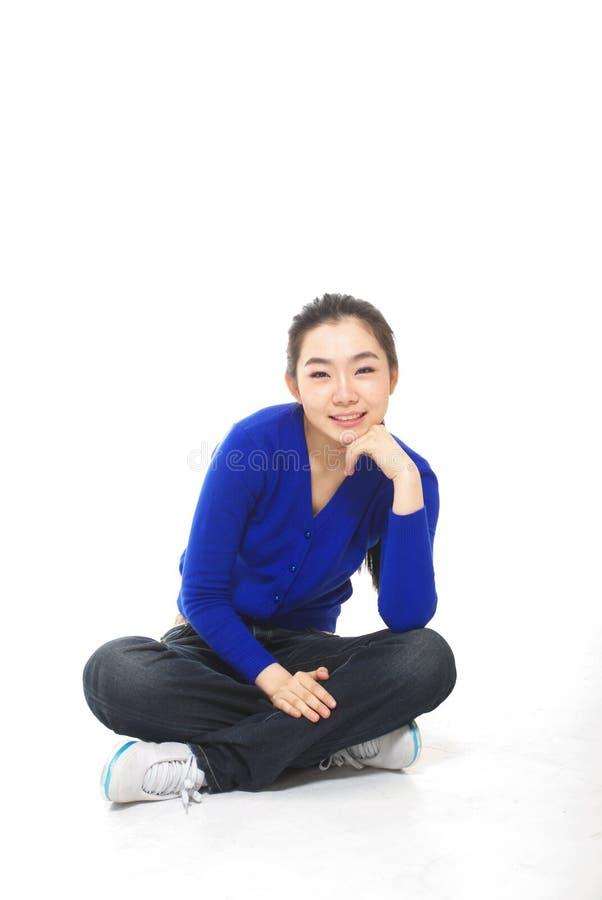 asiatisk kvinna arkivbild