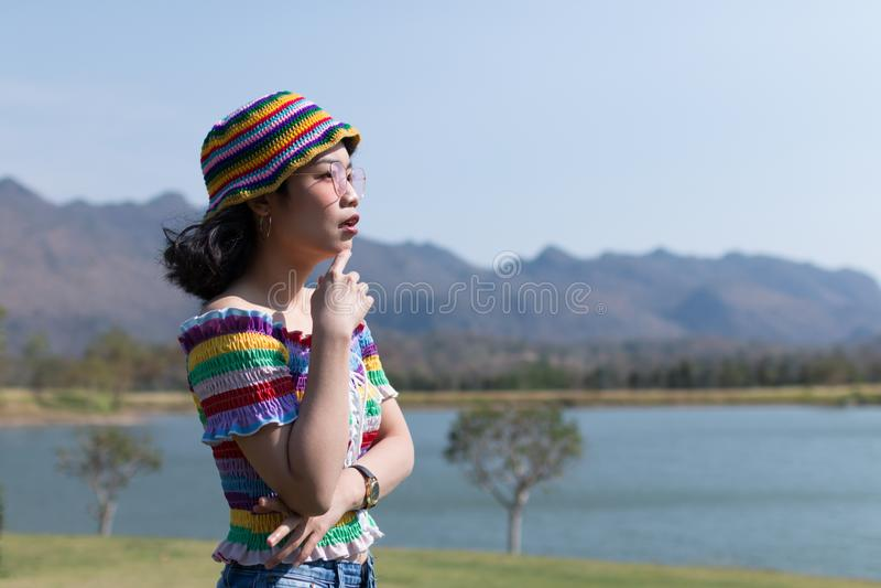 asiatisk kvinna arkivbilder