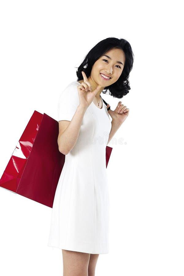 asiatisk lady arkivbilder