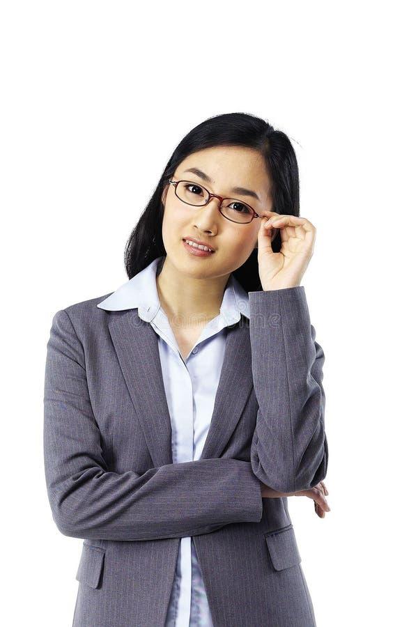 asiatisk lady fotografering för bildbyråer