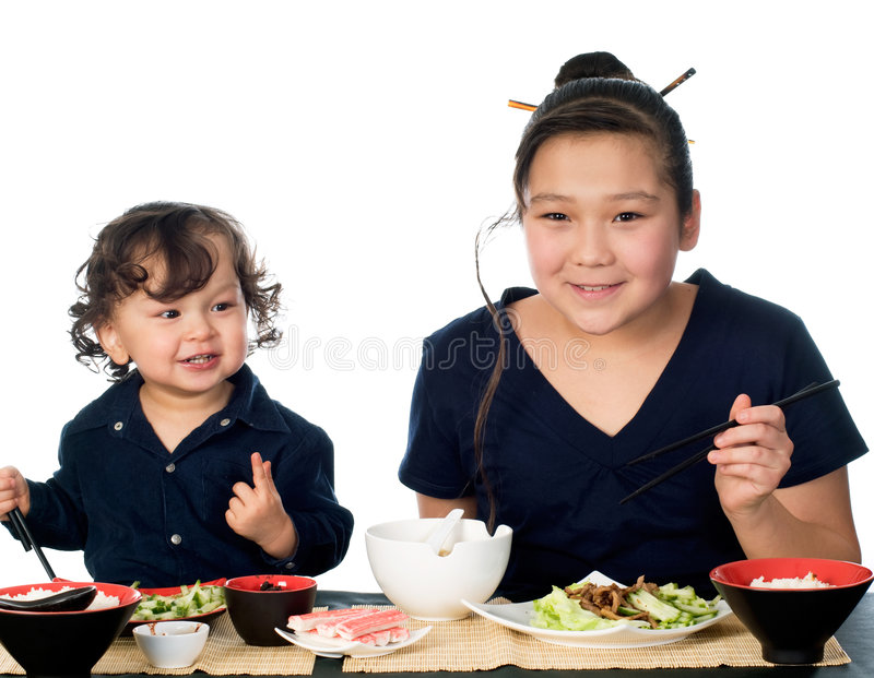 asiatisk mat royaltyfri fotografi