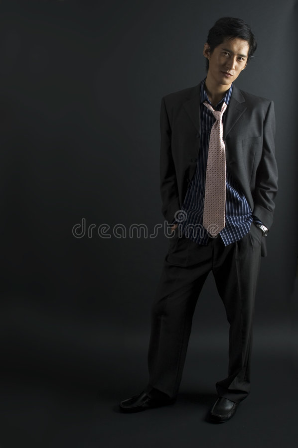 asiatisk modell arkivfoto