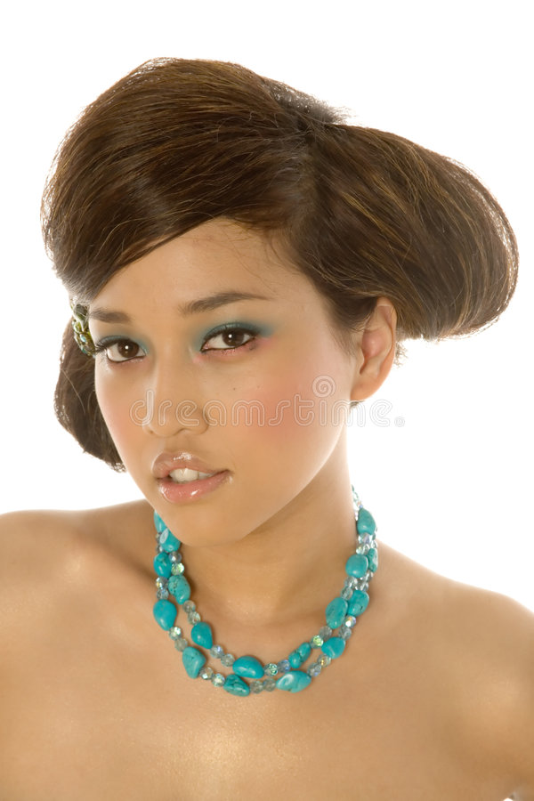 asiatisk nätt kvinna fotografering för bildbyråer