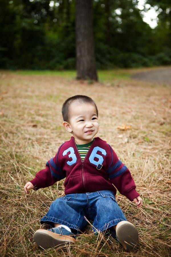 asiatisk pojke royaltyfri foto