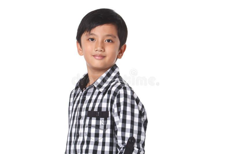 Asiatisk pojke arkivbild