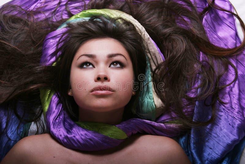 asiatisk sexig kvinna fotografering för bildbyråer