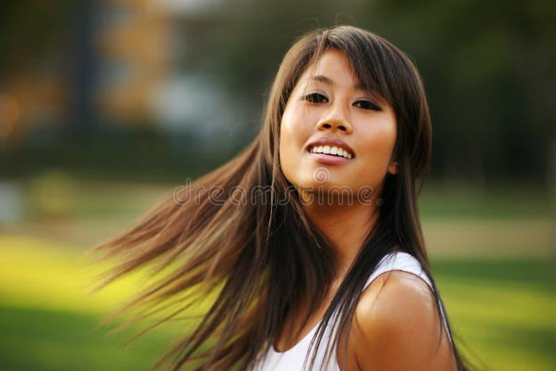 asiatisk skönhet arkivfoton